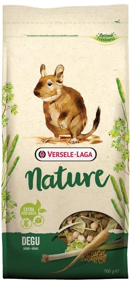 VERSELE-LAGA Degu NATURE NEW корм 700г PREMIUM для дегу (уп-5шт)
