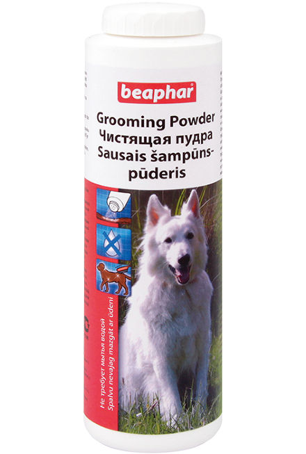 BEAPHAR Grooming Powder 150 г пудра чистящая для собак