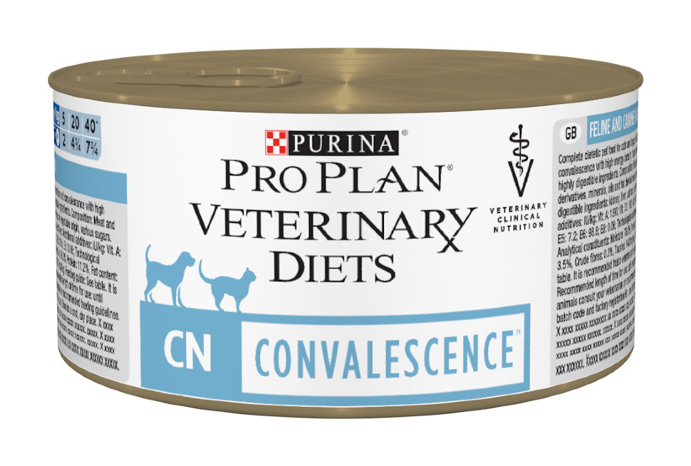 Pro Plan Veterinary Diets консервы 195 г для кошек и собак при выздоровлении (СN)
