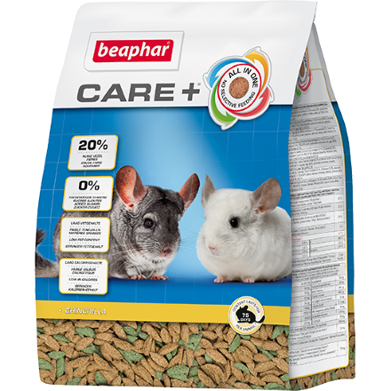 Beaphar 'Care +' корм для шиншилл 250 гр (1х10)