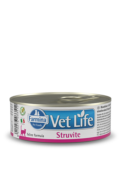 FARMINA VET LIFE NATURAL DIET CAT STRUVITE 85 г консервы паштет диета для кошек при струвитах
