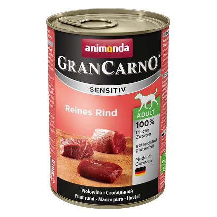 ANIMONDA CRAN CARNO Sensitiv 400 г консервы для собак c говядиной